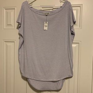 Express OneEleven Striped Top (new with tags)